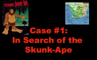 První díl ze série tajemných případů paranormálního detektiva, tentokrát bude Ben Jordan pátrat po vraždící smradlavé opici.