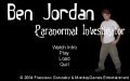Ben Jordan: Paranormal Investigator Case 1 - In Search of the Skunk Ape