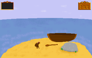 Pádlo použijete ve hře dokonce několikrát, než vyrazíte s touto lodí vstříc pirátským dobrodružstvím.