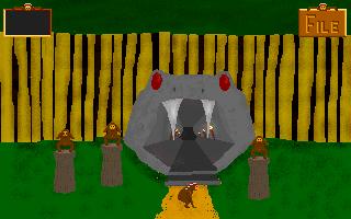 Tři strážci Jeskyně zla, kteří budou bránit Samovi ve vstupu, dokud se jich postupně s vyřešenými úkoly nezbaví.